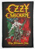 Ozzy Osbourne - 'The Ultimate Sin' Woven Patch